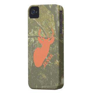 La cabeza y Camo de los ciervos personalizaron la iPhone 4 Case-Mate Cárcasas
