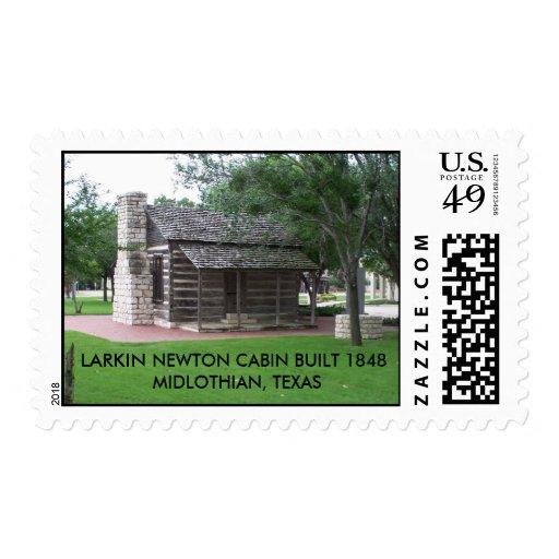 La CABINA de LARKIN NEWTON CONSTRUYÓ 1848MIDLOTH…