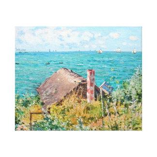 La cabina en la bella arte de Claude Monet del