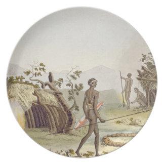 La cabina nativa, nueva Holanda, platea 64 de 'Le  Plato De Cena