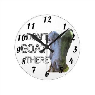 """La cabra """"CABRA ALLÍ"""" no registra Relojes"""