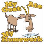 la cabra comió mi dibujo animado divertido de la p esculturas fotograficas