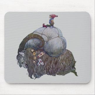 La cabra de Yule Alfombrillas De Ratones