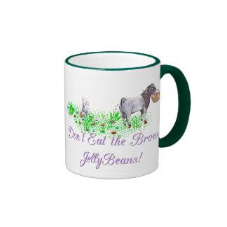 La cabra no come las habas de jalea de Brown Taza