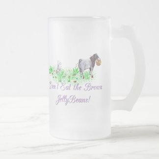 La cabra no come las habas de jalea de Brown Taza De Cristal