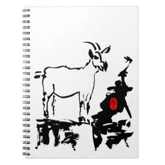 La cabra oscila - 2015 años de la cabra - libreta
