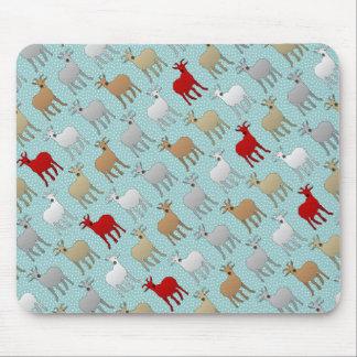 La cabra roja alfombrilla de ratón