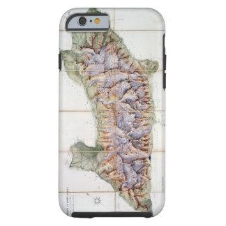 La cadena de Mont Blanc, de una encuesta real Funda De iPhone 6 Tough