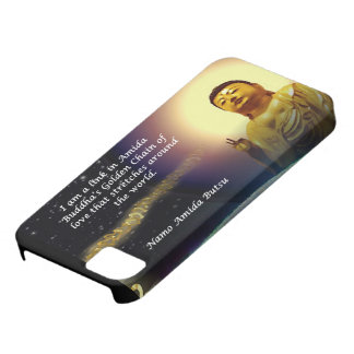 La cadena de oro de Amida del amor 2 01 iPhone 5 Case-Mate Carcasa