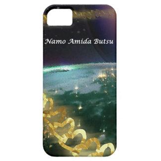 La cadena de oro de Amida del amor 2 02 iPhone 5 Carcasa