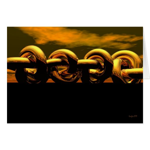 La cadena tarjetón