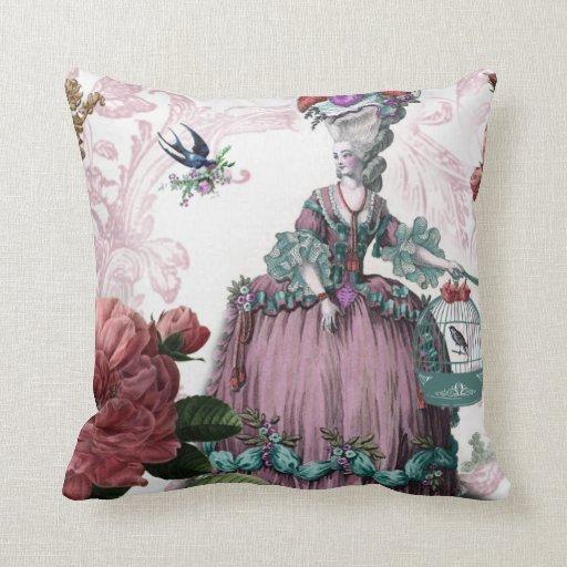 la cage aux oiseaux (The Bird cage) Pillow