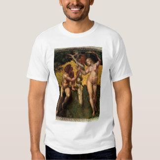 La caída - Adán y Eva por Raphael Sanzio Playeras