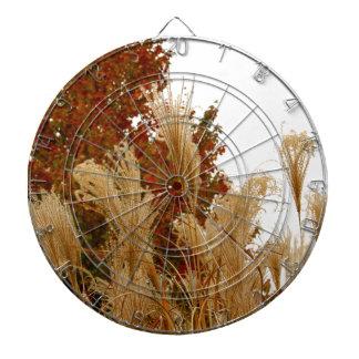 La caída colorea fotografía de la naturaleza de la tablero dardos