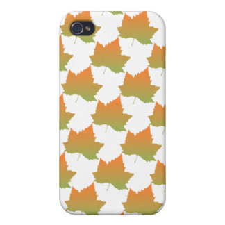 La caída colorea la estación canadiense del otoño  iPhone 4/4S carcasas
