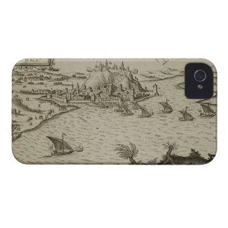 La caída de Belgrado a los turcos en 1521, illustr iPhone 4 Carcasa