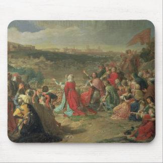 La caída de Granada en 1492, 1890 Tapete De Raton