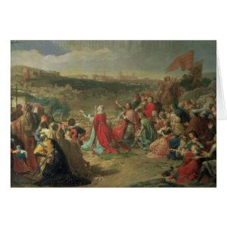 La caída de Granada en 1492, 1890 Tarjeta De Felicitación