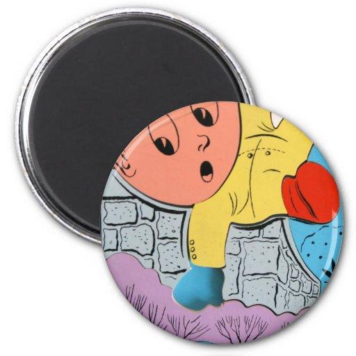 La caída de Humpty Imán Redondo 5 Cm