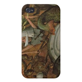 La caída de los ángeles rebeldes, 1562 iPhone 4 funda