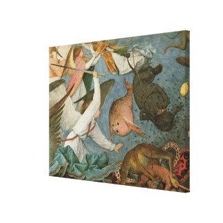 La caída de los ángeles rebeldes, 1562 impresiones de lienzo
