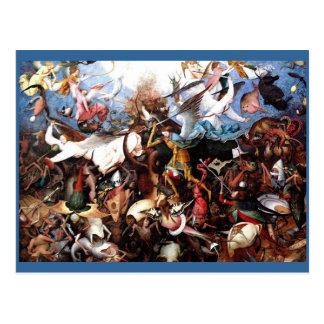 """La caída de Pieter Bruegel """"de los ángeles Postales"""