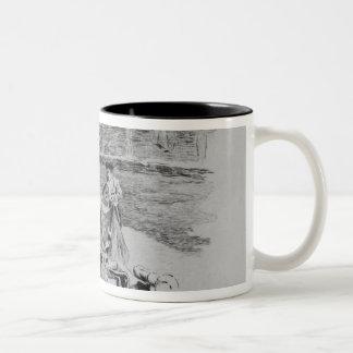 La caída de un Picador Tazas De Café