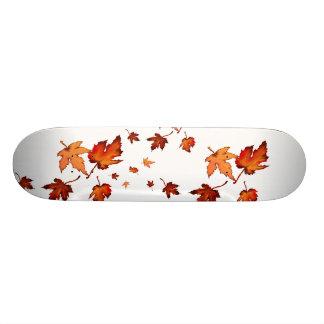 La caída deja el monopatín skate board