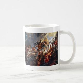 La caída del faetón taza de café