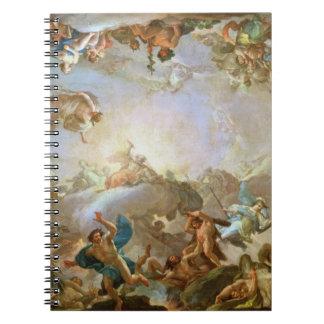 La caída del Giants que sitia Olympus, 1764 (oi Libretas Espirales