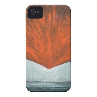 La caída del pájaro de Phoenix (surrealismo abstra iPhone 4 Carcasa