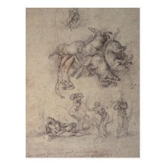 La caída del Phaethon, 1533 Postal