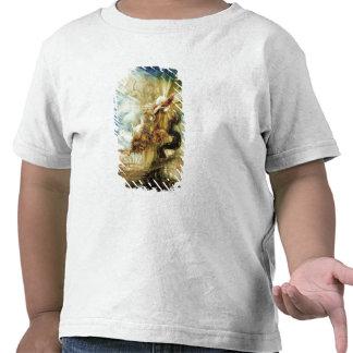 La caída del Phaethon (w/c en el papel) Camisetas