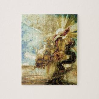 La caída del Phaethon (w/c en el papel) Rompecabezas Con Fotos