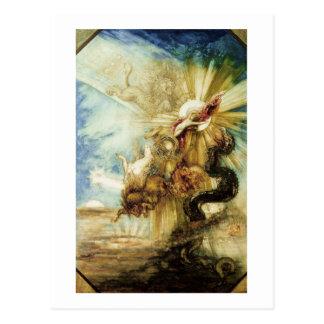 La caída del Phaethon (w/c en el papel) Postal