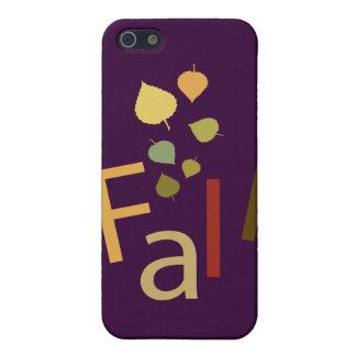La caída está bajando iPhone 5 carcasas