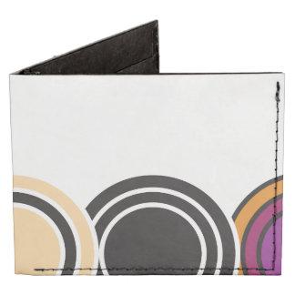 La caída está en el círculo completo (blanco) billeteras tyvek®