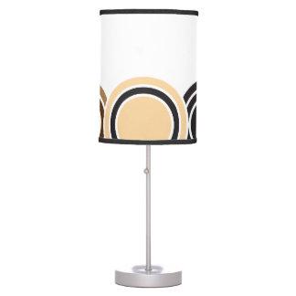 La caída está en el círculo completo (blanco) lámpara de mesilla de noche