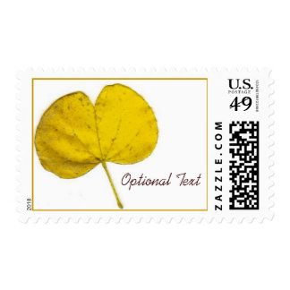 La caída fabulosa colorea franqueo de la hoja timbre postal