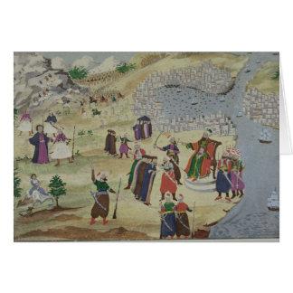 La caída prevista de Constantinopla, de la imagen Tarjeta De Felicitación