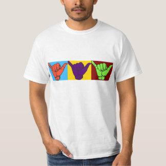 La caída suelta diseño camisas