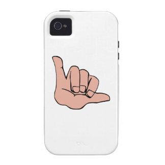 LA CAÍDA SUELTA VIBE iPhone 4 FUNDAS