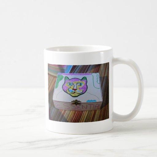 La caja de gato esencial taza