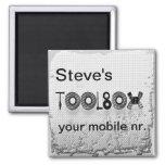 La caja de herramientas de Steve Imán De Frigorífico