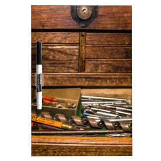 La caja de herramientas del abuelo pizarras blancas