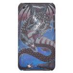 La caja de iPod 4 del arte del dragón de la tempes iPod Touch Protector