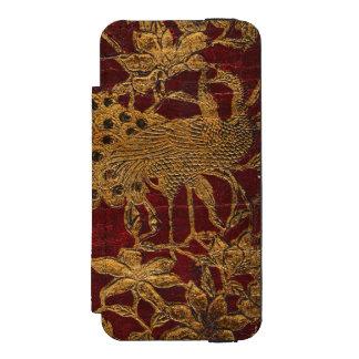 La caja de la cartera del iPhone del diario del Funda Billetera Para iPhone 5 Watson