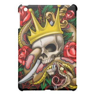 La caja de la mota del iPad del rey