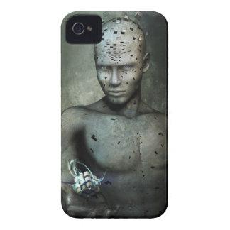 La caja de la zarzamora de la partícula de dios Case-Mate iPhone 4 coberturas