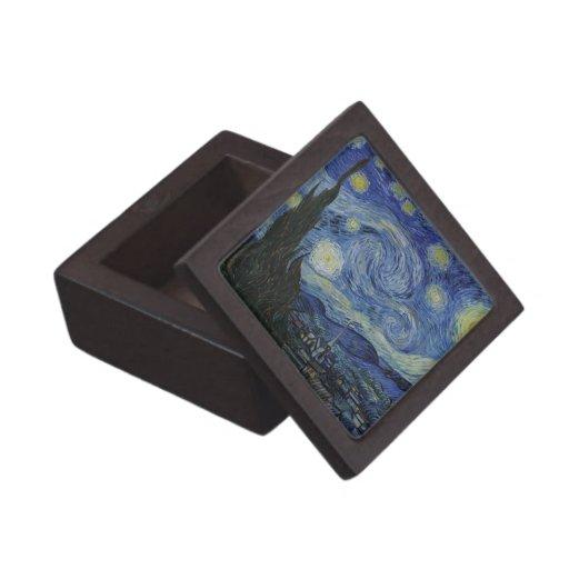 La caja de regalo superior de la noche estrellada cajas de recuerdo de calidad